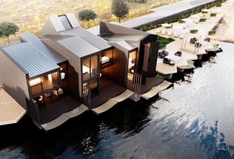 «Бриз Парк»: дома на воде
