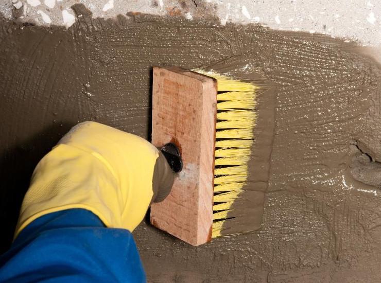 Гидроизоляция на бетон сколько нужно цементного раствора на стяжку